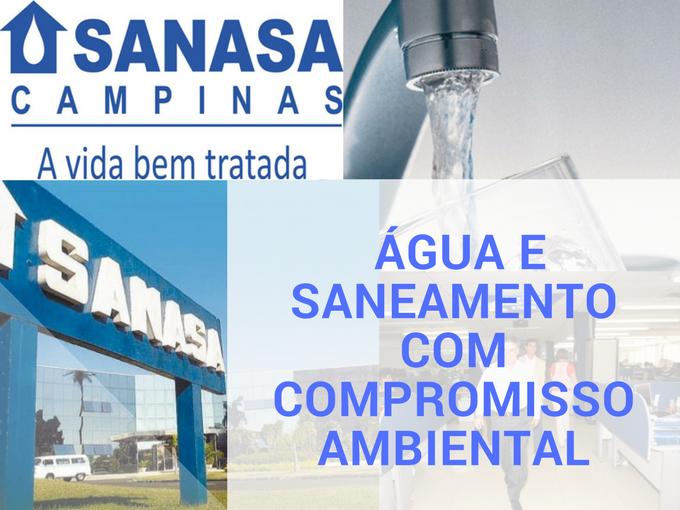 Sanasa, água e saneamento em Campinas