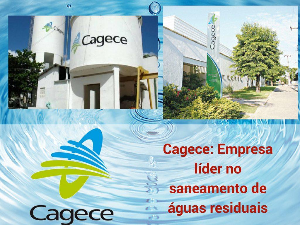Cagece: Empresa líder no saneamento de águas residuais