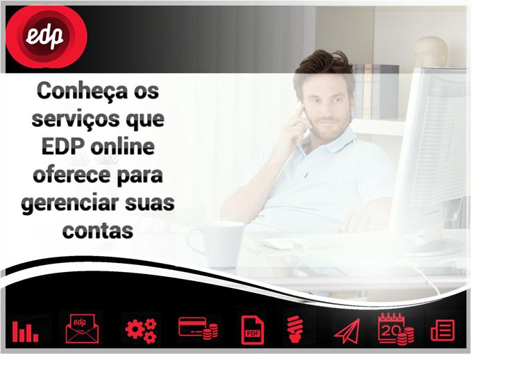 Conheça os serviços de EDP online
