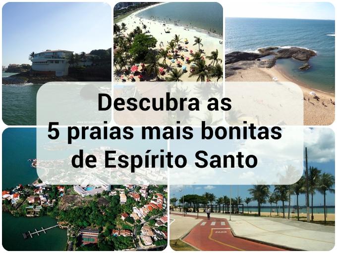 Descubra as 5 praias mais bonitas de EspíritoSanto
