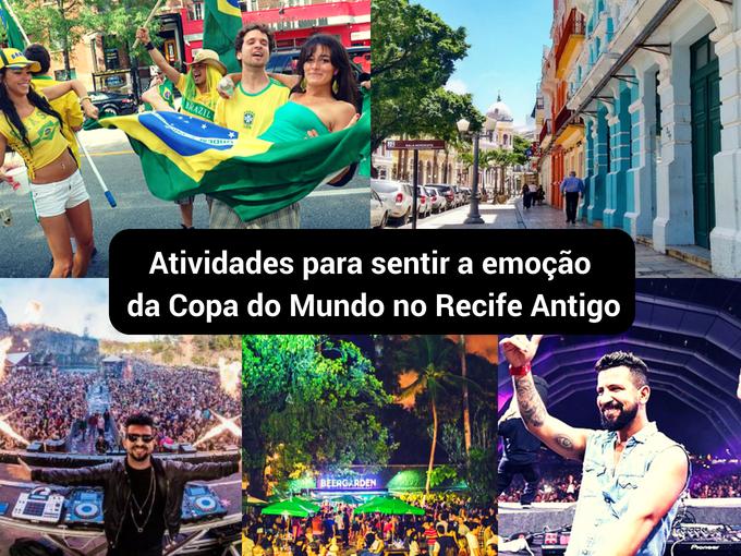 Em Recife, o futebol é sentido