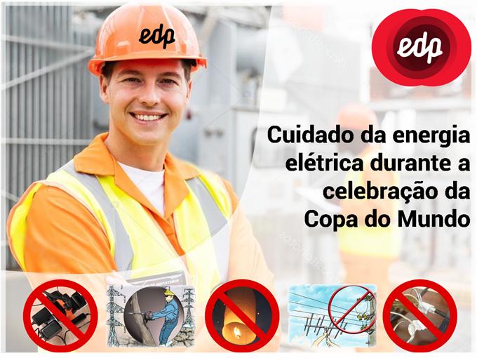 EDP orienta seus usuários no cuidado da energia elétrica