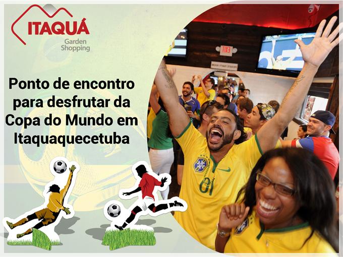 Conheça o ponto de encontro onde você pode ver a Copa do Mundo em Itaquaquecetuba