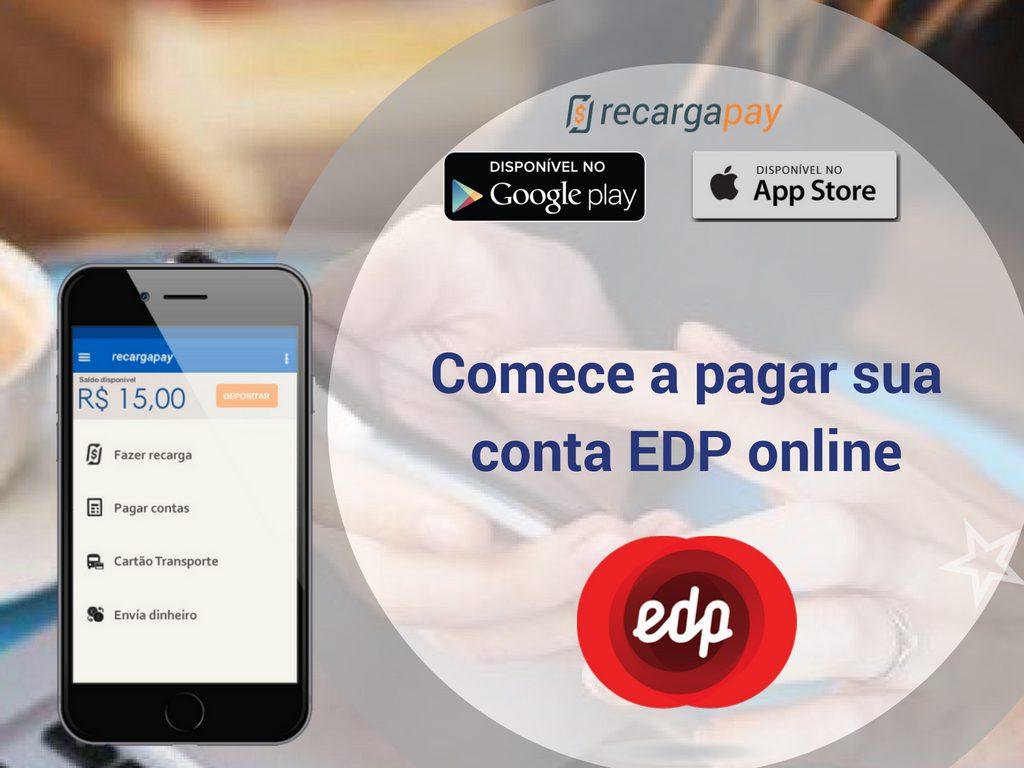 Comece a pagar sua conta EDP online