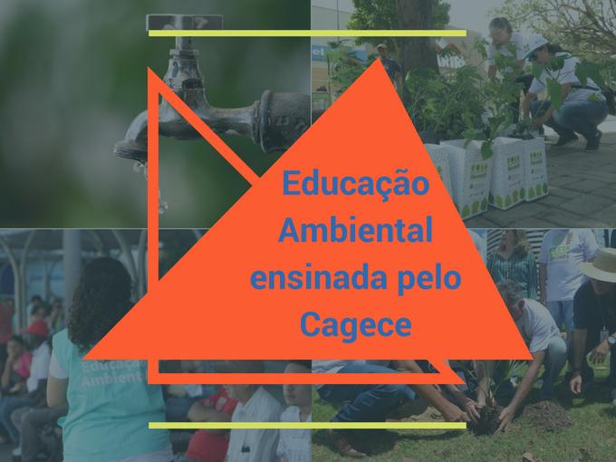 Por que a Cagece ensina educação ambiental?