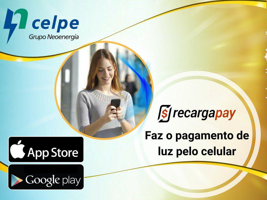 Paga conta Celpe com Recargapay em Recife