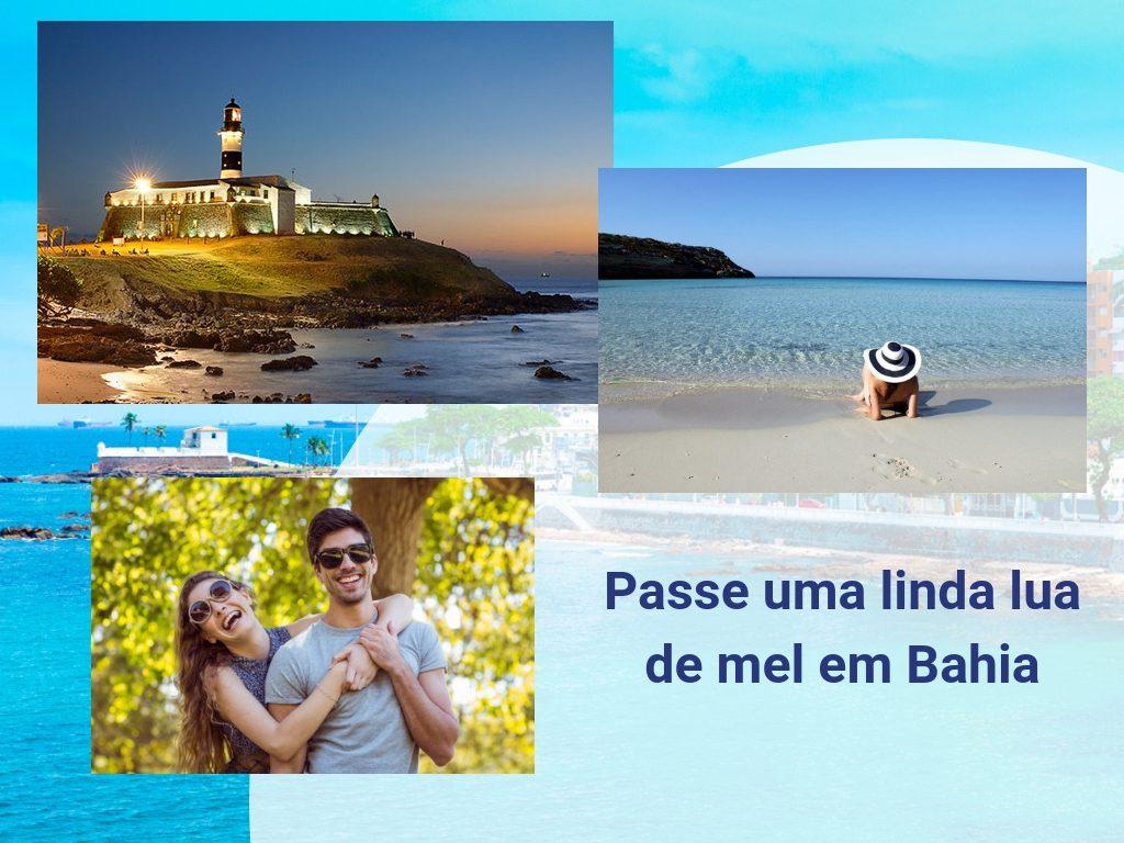 Passe uma linda lua de mel em Bahia