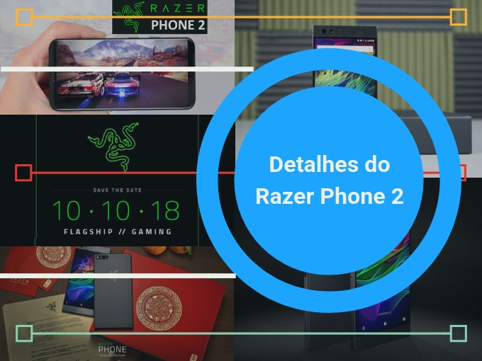 Deltalhes do Razer Phone 2