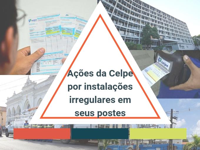 Instalações irregulares nos postos da Celpe