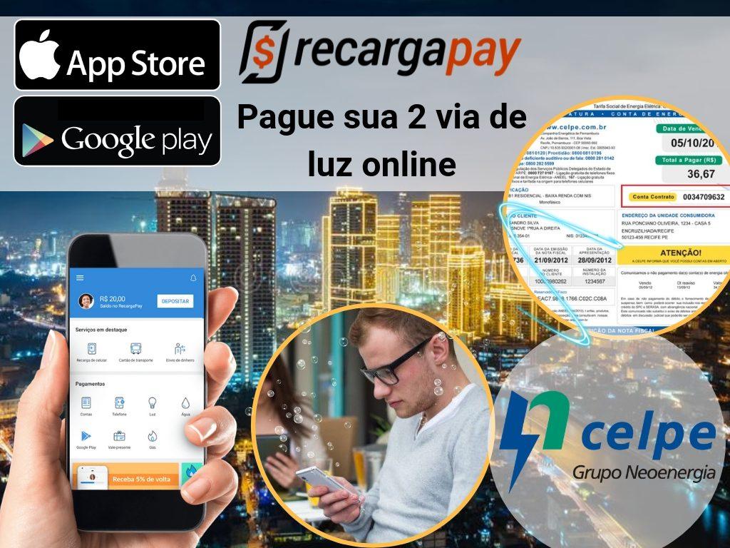 Paga a conta de luz Celpe com Recargapay