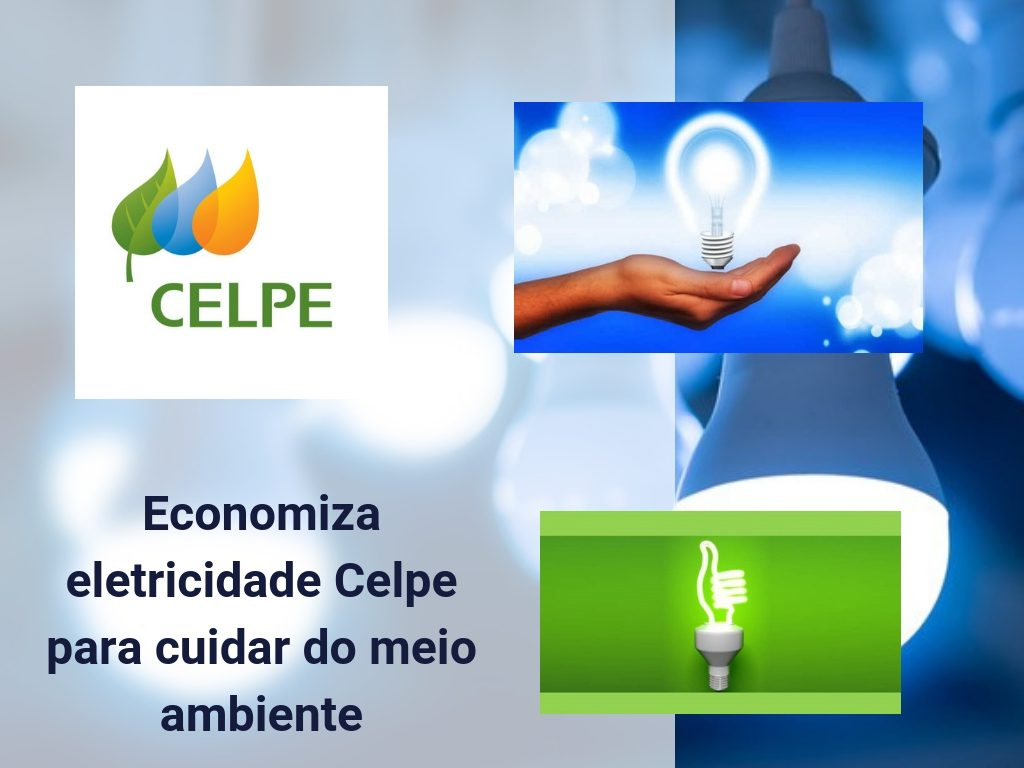 Economiza eletricidade Celpe para cuidar do meio ambiente