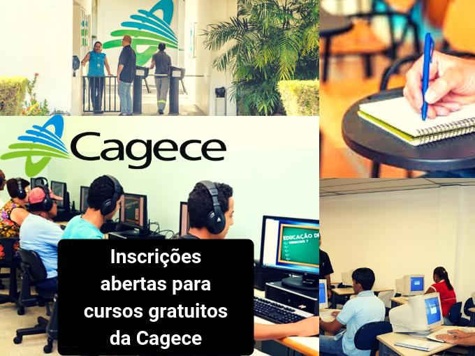Cagece conta atrasada cursos para treinar jovens