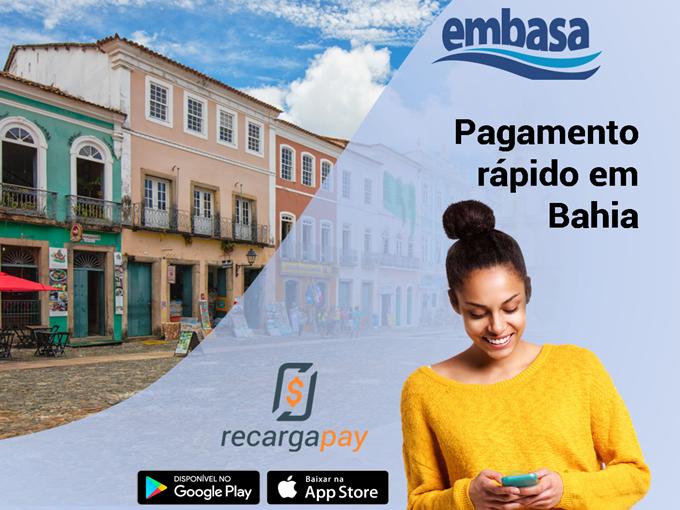 Embasa 2 via - Pagamento rápido em Bahia
