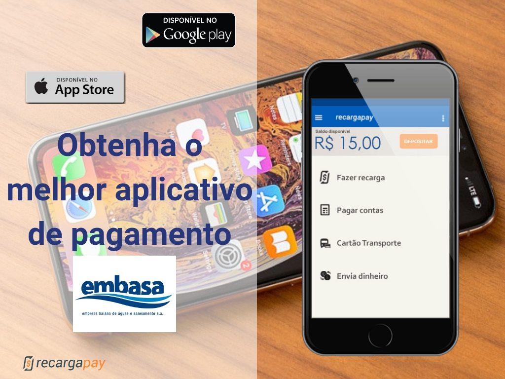 Obtenha o melhor aplicativo de pagamento Embasa