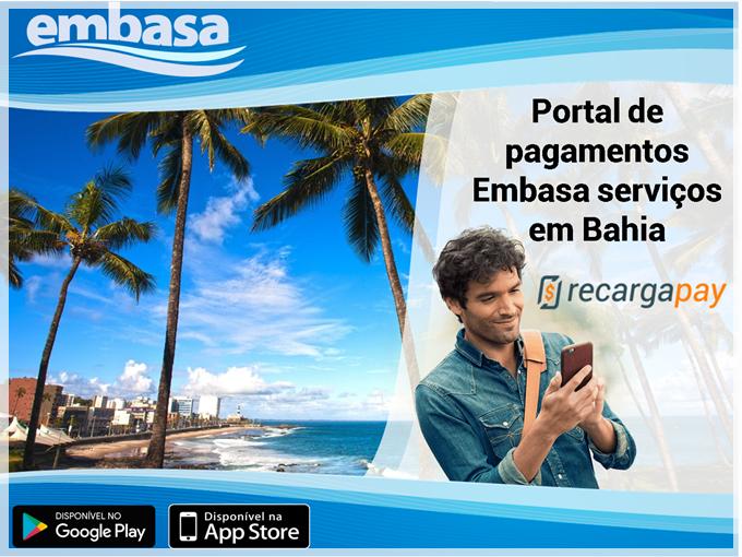 Embasa 2 via - Portal de pagamentos Embasa serviços em Bahia