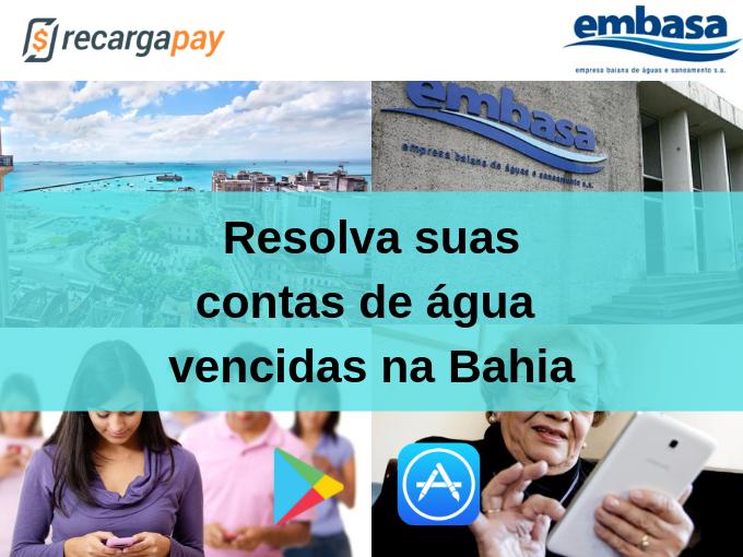 Resolva suas contas de água vencidas na Bahia