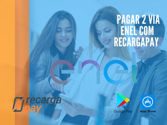 Pague sua 2a via Enel com RecargaPay