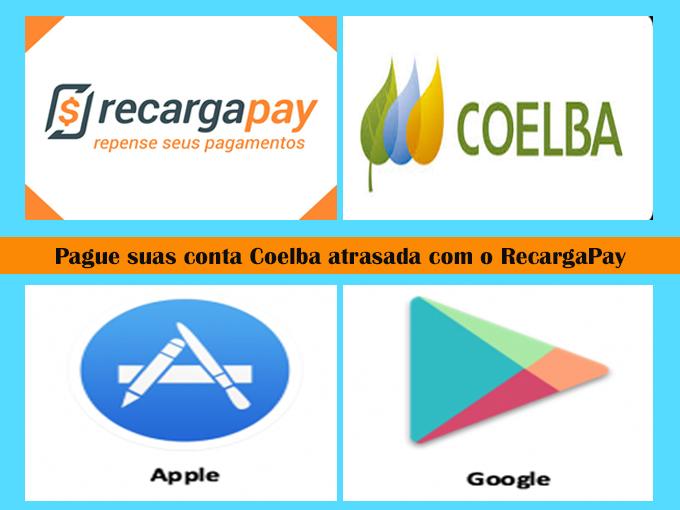 Use RecargaPay para pagar sua Coelba 2 via