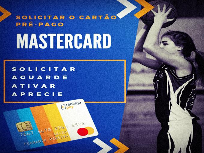 Solicite seu cartão mastercard pré-pago
