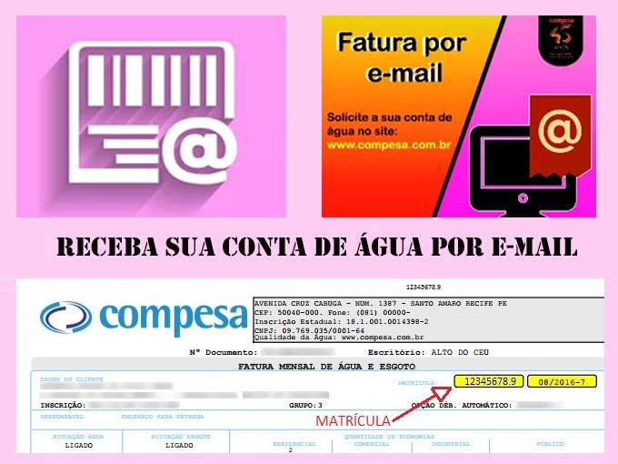 Conta por e-mail