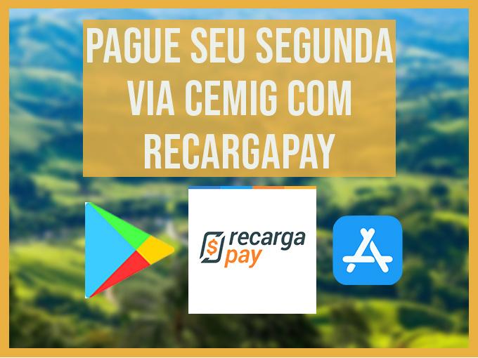 Pague sua segunda via Cemig com RecargaPay