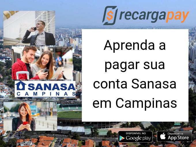 Aprenda a pagar sua conta Sanasa