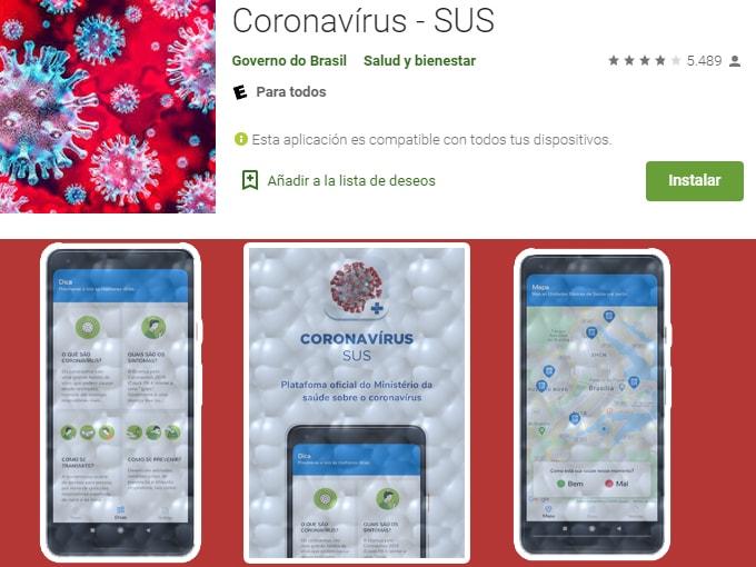 Coronavírus SUS