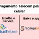 Pagamento Telecom pelo celular