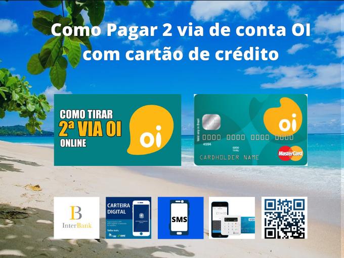 Pagar 2 via Oi com nosso app