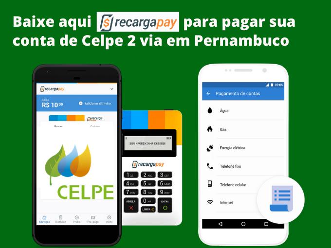 Baixe nosso app para pagar conta de Celpe 2 via em Pernambuco