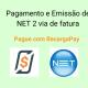 Pagamento e Emissão de NET 2 via de fatura