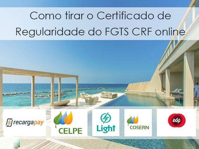 Como tirar o certificado de regularidade FGTS