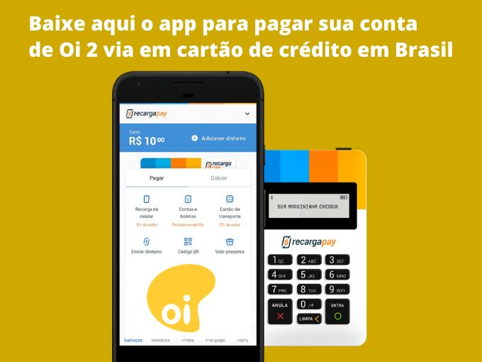 Baixe aqui o app para pagar sua conta Oi 2 via
