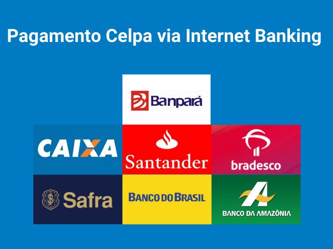 Pagamento Celpa via Internet Banking