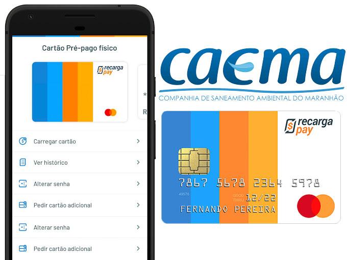 Pagar Caema 2 via com cartao pré-pago ou cartao de crédito