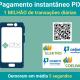 Pix registra 1 milhão de transações diárias