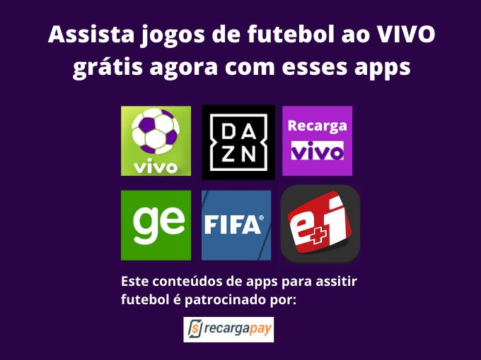 Assista futebol ao Vivo com os melhores apps