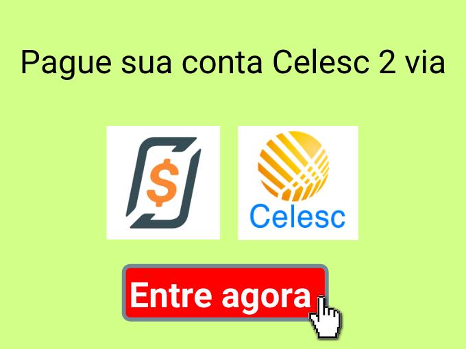 Emitir e pagar Celesc 2 via online pelo celular