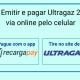 Emitir e pagar Ultragaz 2 via online pelo celular